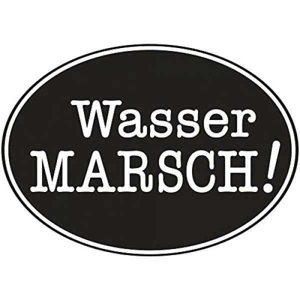 Labels Wasser Marsch!
