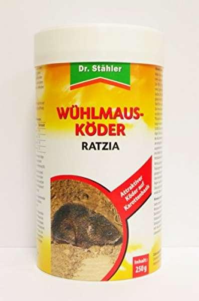 Wühlmaus Köder Ratzia 250g