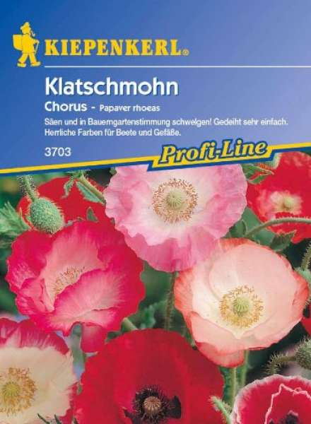 Kiepenkerl Romantikmohn Chorus