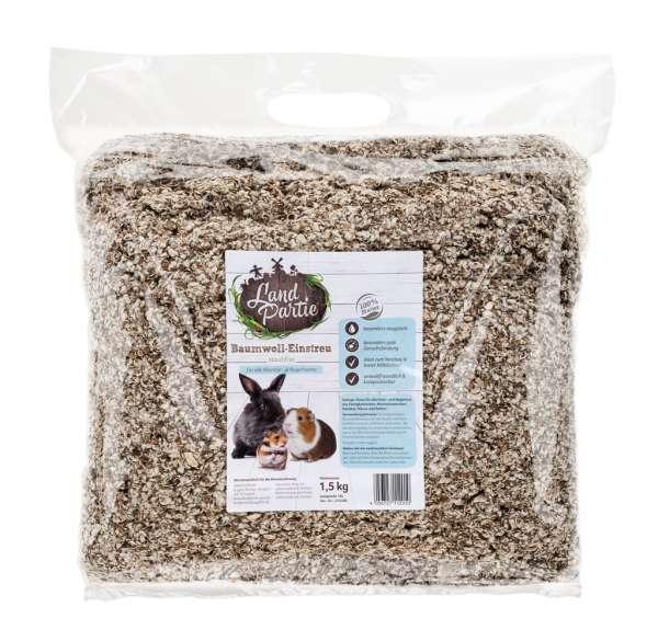 LandPartie Baumwoll-Einstreu 1,5kg