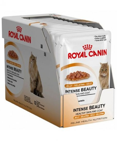 Royal Canin Intense Beauty in Gelee 12 x 85g