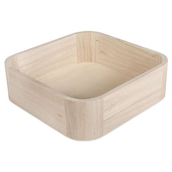 Holz Tray 19,5x19,5x6cm