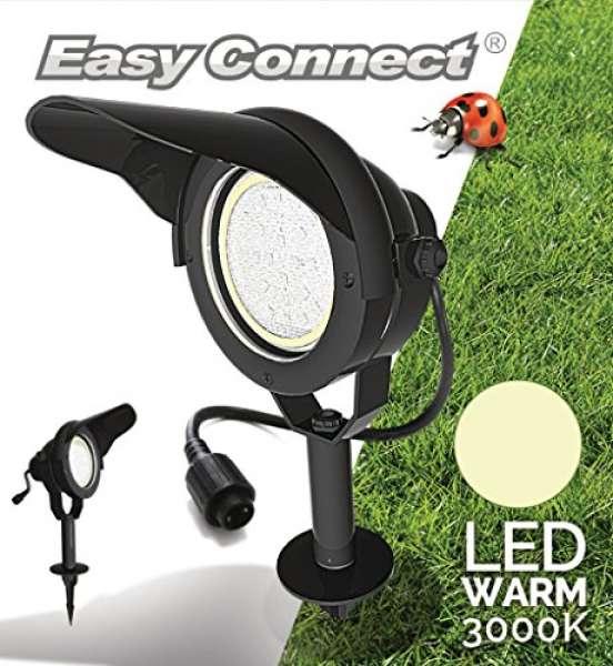 LED Strahler schwarz 10w