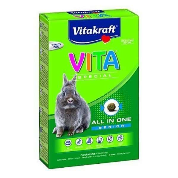 Vitakraft VITA Special Senior für Zwergkaninchen 600g