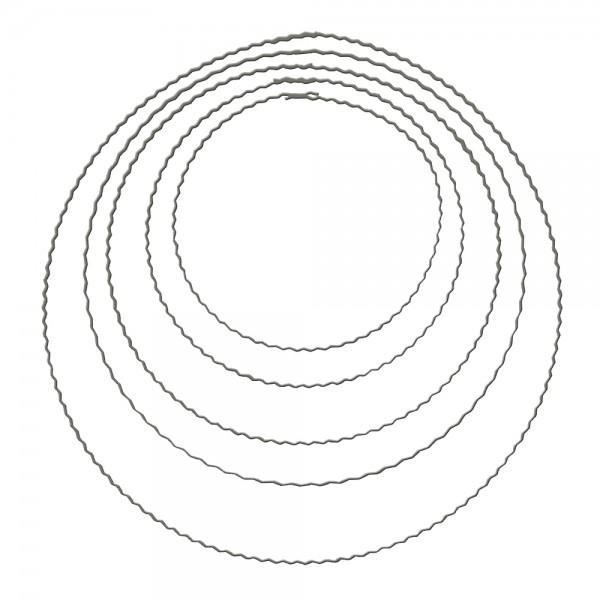 Metall Ring Flachdraht 30cm | Draht & Garn | Schmuck | Basteln ...